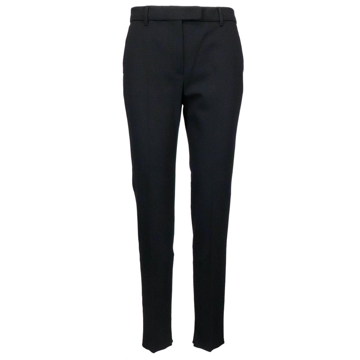 Rangon tapered trousers in viscose blend Black MAX MARA STUDIO