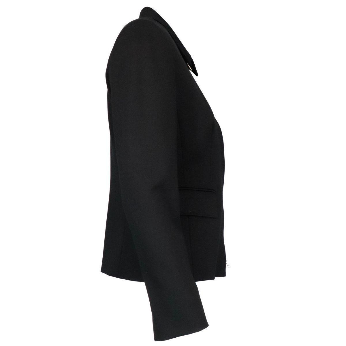 Reflex jacket in stretch viscose blend Black MAX MARA STUDIO