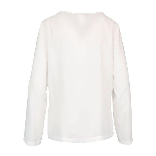Ometto blouse in pure silk Optical white MAX MARA STUDIO