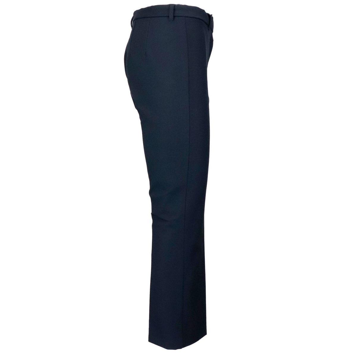 Men's trumpet trousers in cotton Navy S MAX MARA