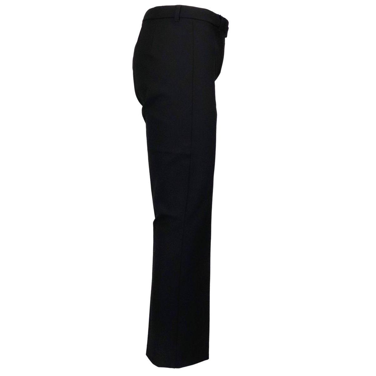 Men's trumpet trousers in cotton Black S MAX MARA