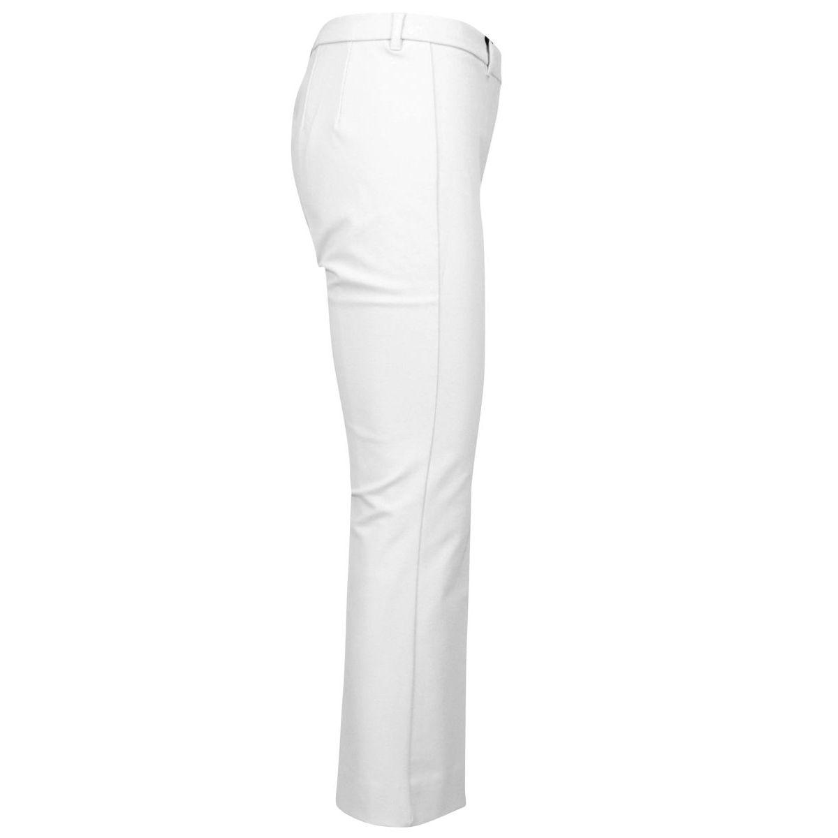 Men's trumpet trousers in cotton Cream S MAX MARA