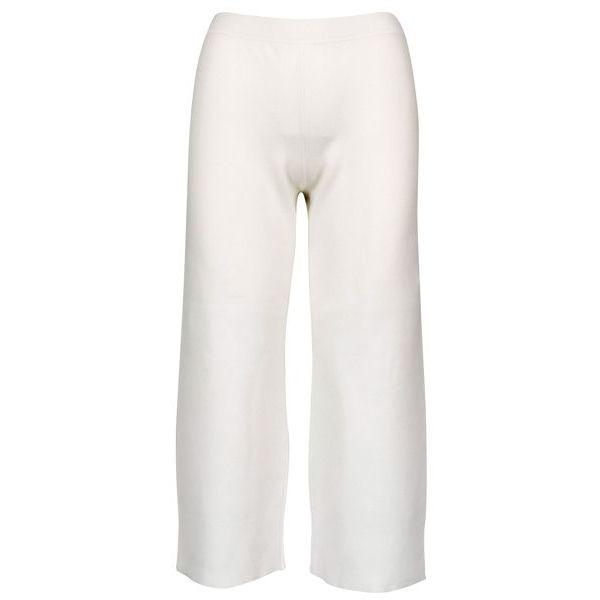 Fairy cropped trousers in viscose blend White MAX MARA STUDIO