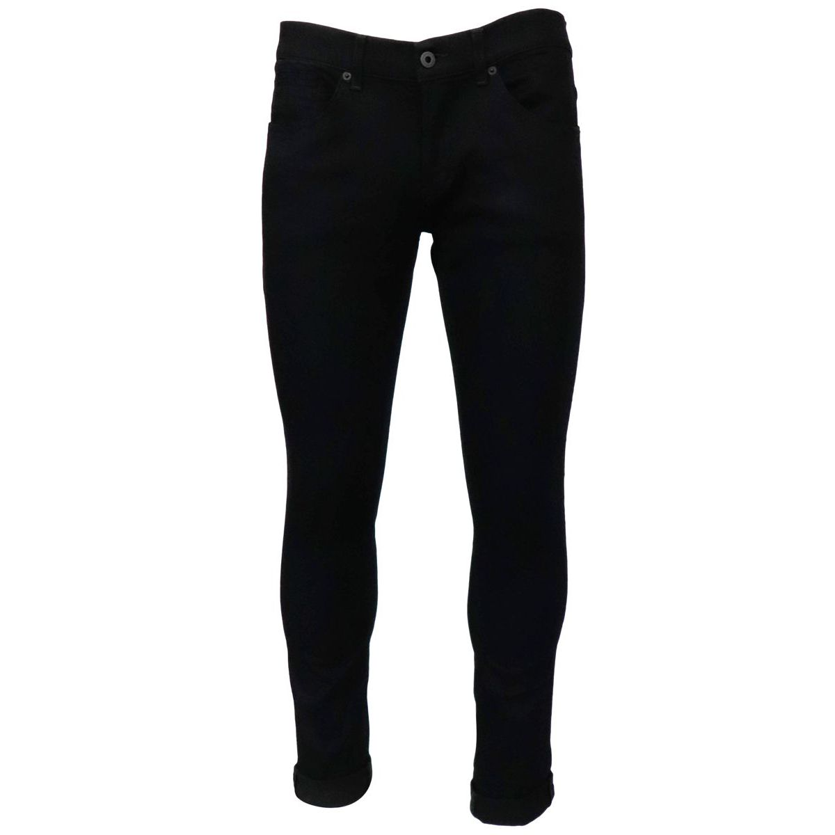 George skinny jeans in black denim Black Dondup