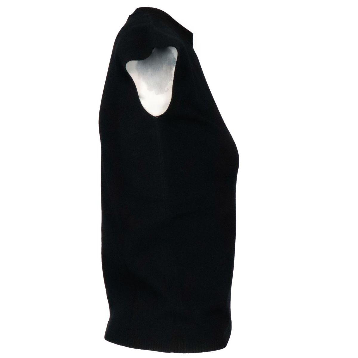 Vicolo sleeveless jersey in viscose blend Black MAX MARA STUDIO