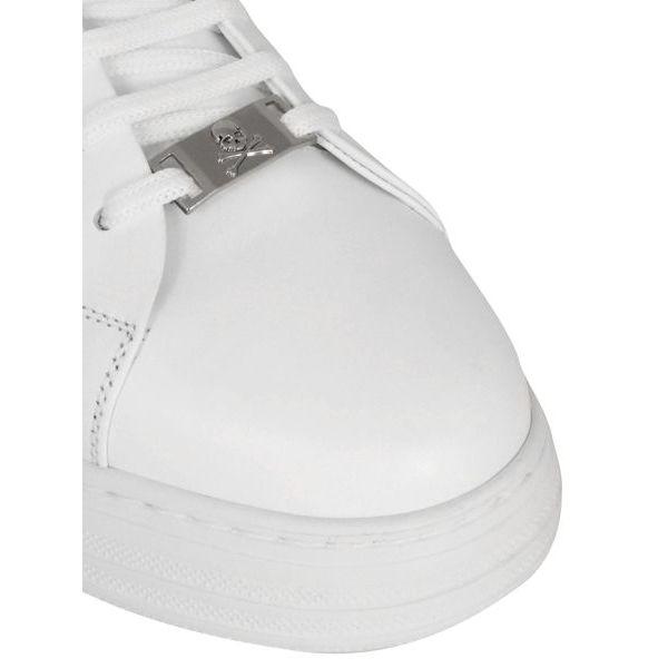 3. Sneaker in pelle Phantom low-top Bianco Philipp Plein