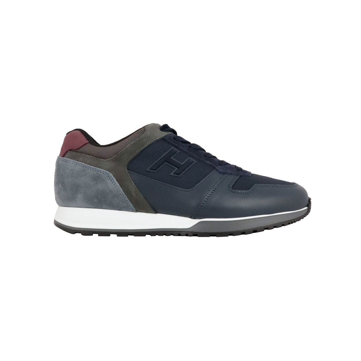 Sneakers with 321 leather sole with suede inserts