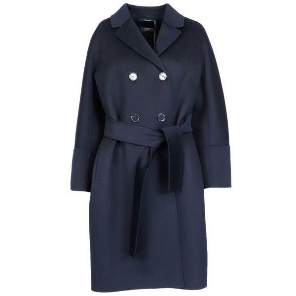 Ariel wool coat Navy S MAX MARA