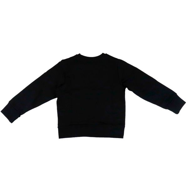 Cotton sweatshirt with logo and Santa Claus print Black Diesel