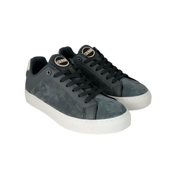 4. Colmar Bradbury Suede sneakers with hammered leather inserts Grey Colmar Shoes