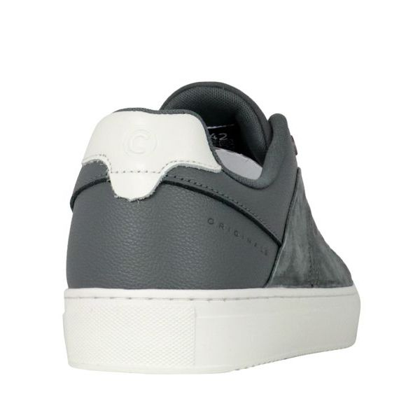 2. Colmar Bradbury Suede sneakers with hammered leather inserts Grey Colmar Shoes