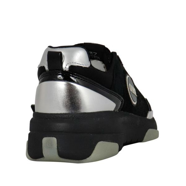 2. Colmar Travis sneakers in leather with suede inserts Black Colmar Shoes