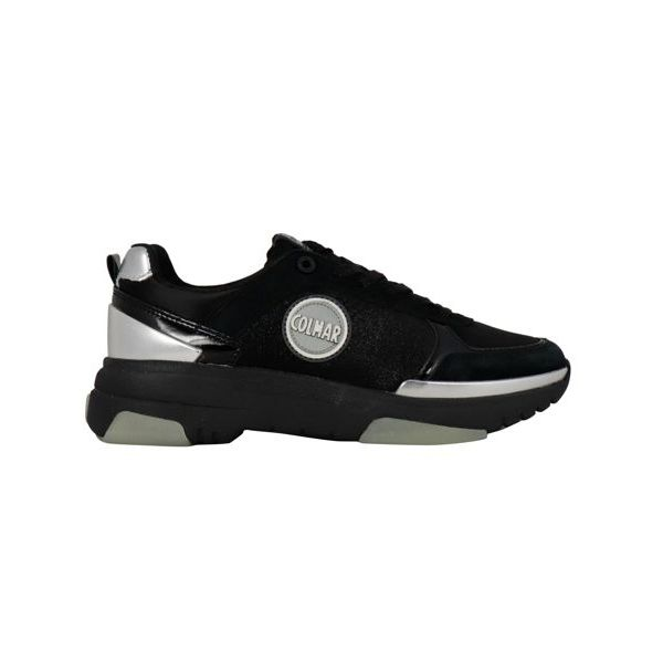 1. Colmar Travis sneakers in leather with suede inserts Black Colmar Shoes
