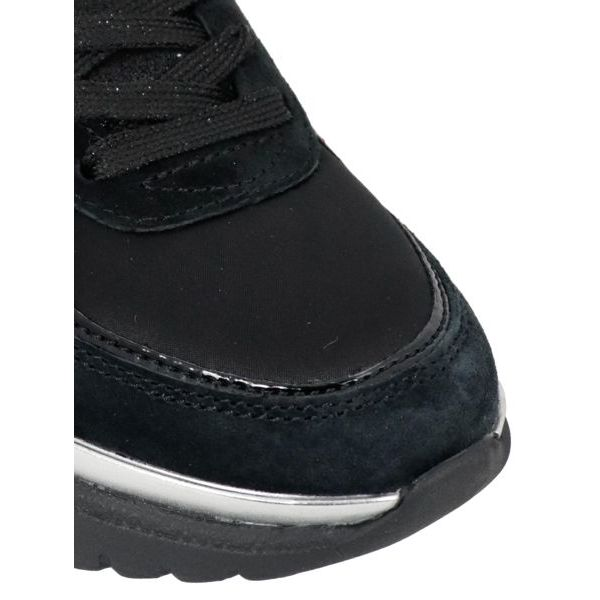 3. Colmar Travis sneakers in leather with suede inserts Black Colmar Shoes