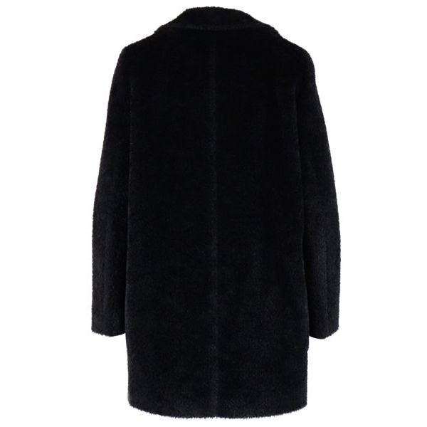 Bormio double-breasted coat in wool and alpaca Black MAX MARA STUDIO