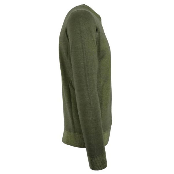 Sweatshirt in washed mohair wool Moss Alpha Studio