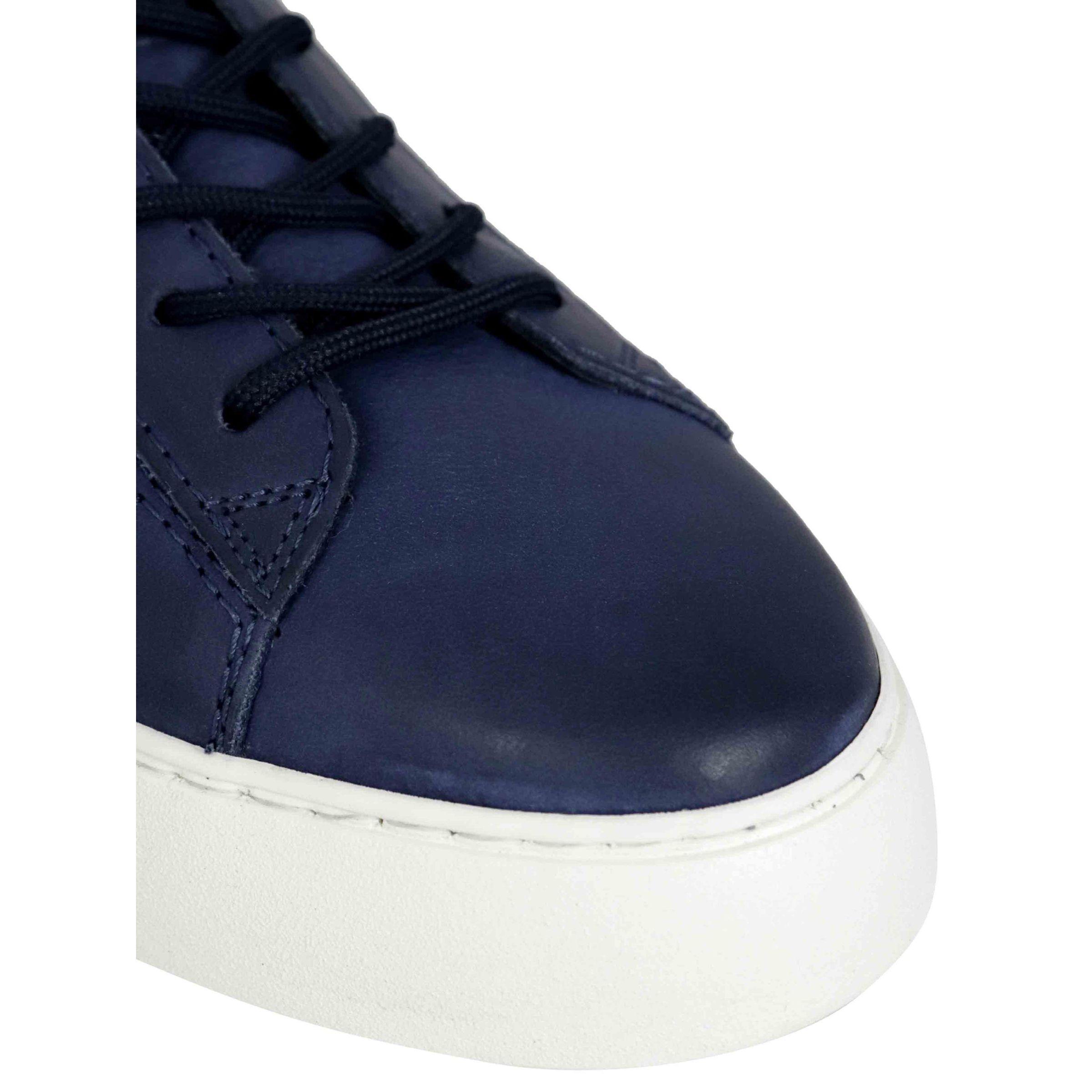 Sneakers Hogan Rebel derby H in pelle Blu, hxm5260cw02px6 ...