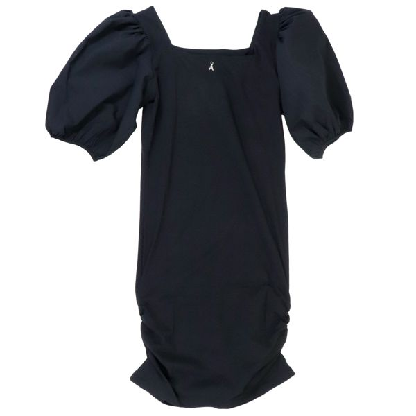 3. Patrizia Pepe jersey dress with wide sleeves Black Patrizia Pepe