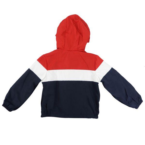 3. Veste Moncler Dard avec capuche Bleu / blanc / rouge Moncler