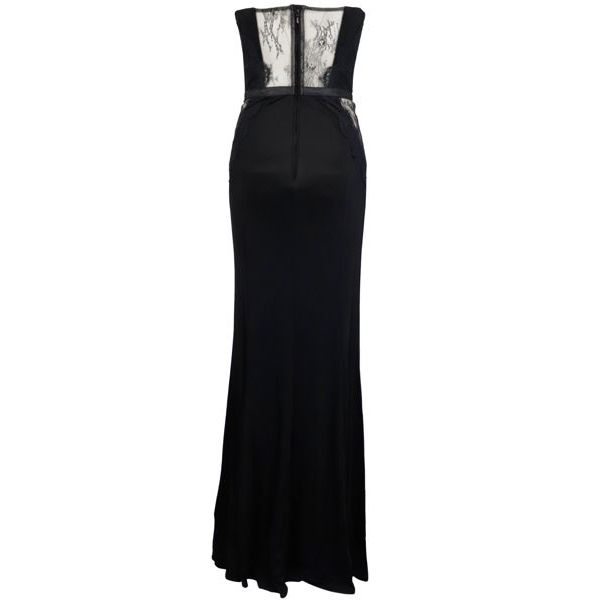 3. Elisabetta Franchi long dress in lurex jersey Black Elisabetta Franchi