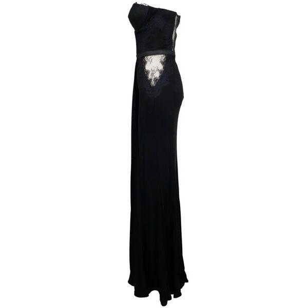 2. Elisabetta Franchi long dress in lurex jersey Black Elisabetta Franchi
