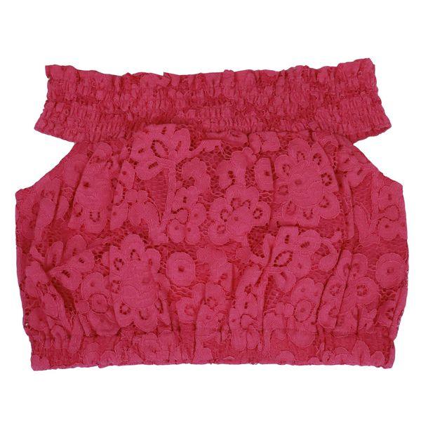 2. Twin-Set lace suit Fuxia Twin-Set