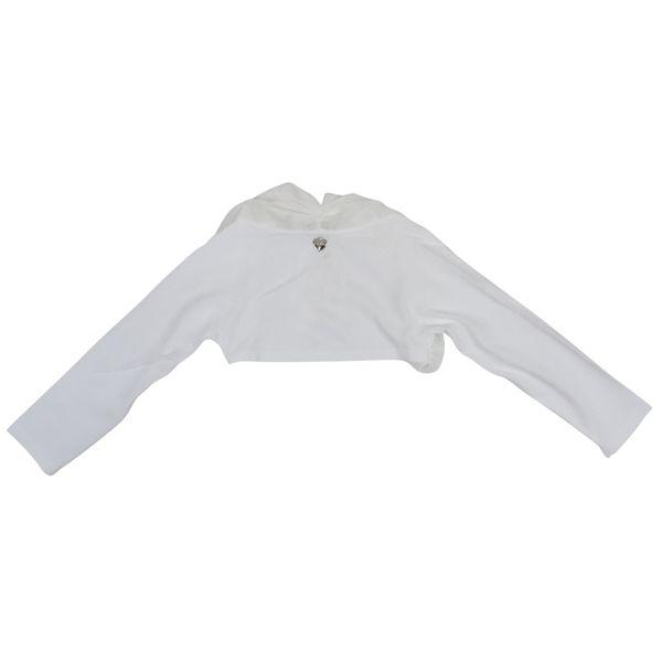 3. Twin-Set shrug in cotton blend White Twin-Set