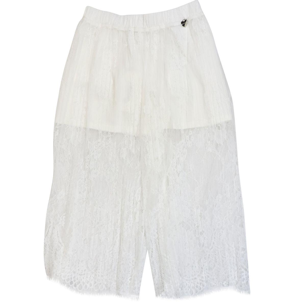 1. Twin-Set cropped lace trousers White Twin-Set