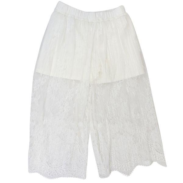 3. Twin-Set cropped lace trousers White Twin-Set