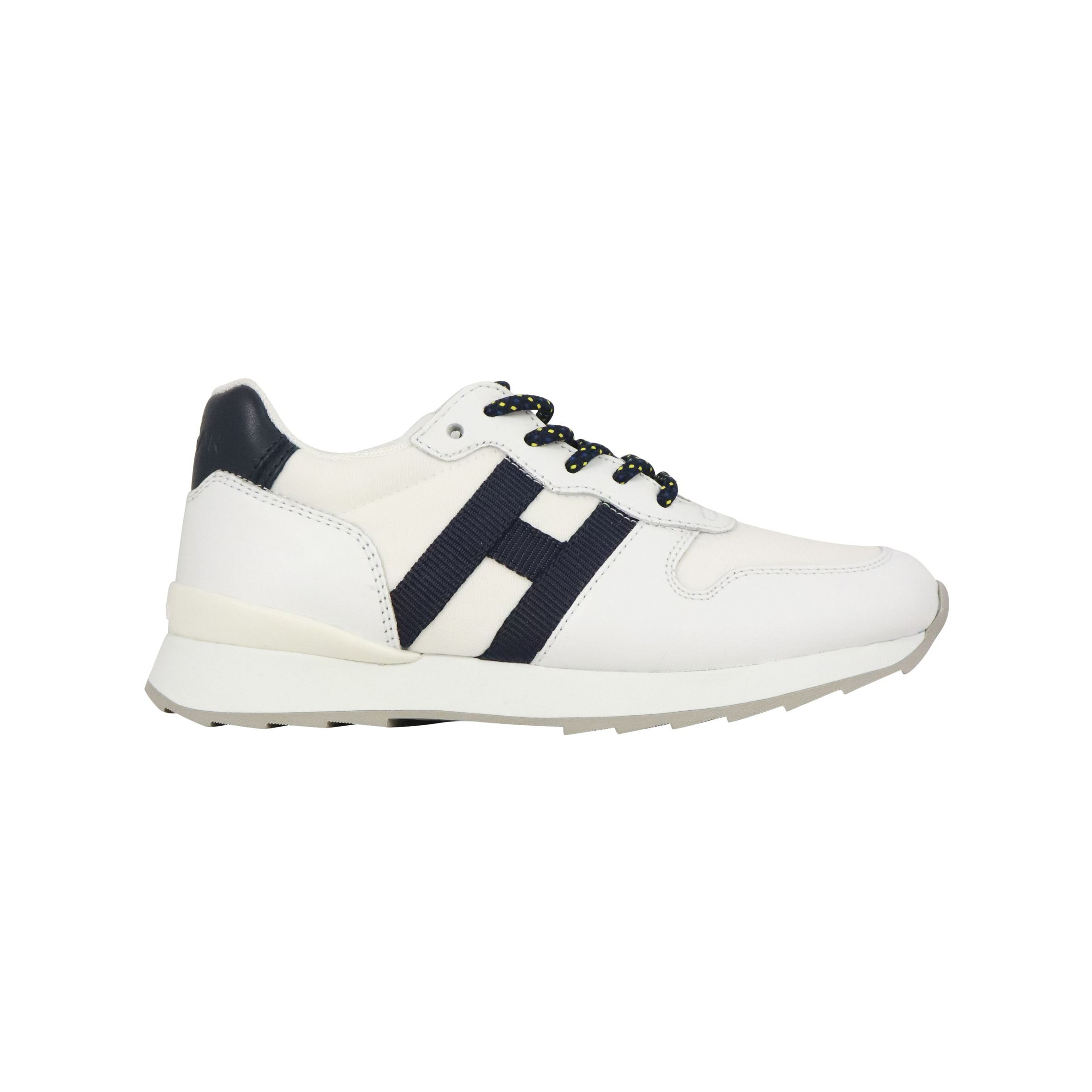 Sneakers Hogan in pelle con H nastro Bianco, hxc4840cy50ftq ...