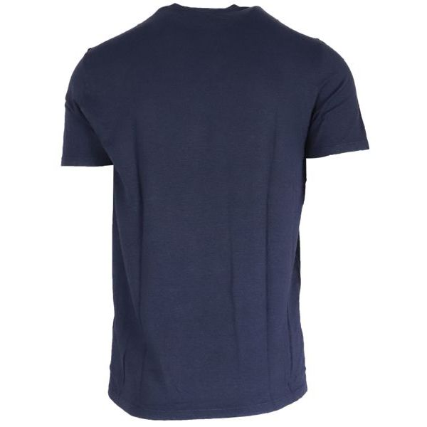 3. Altea linen short sleeve crewneck T-shirt Navy Altea
