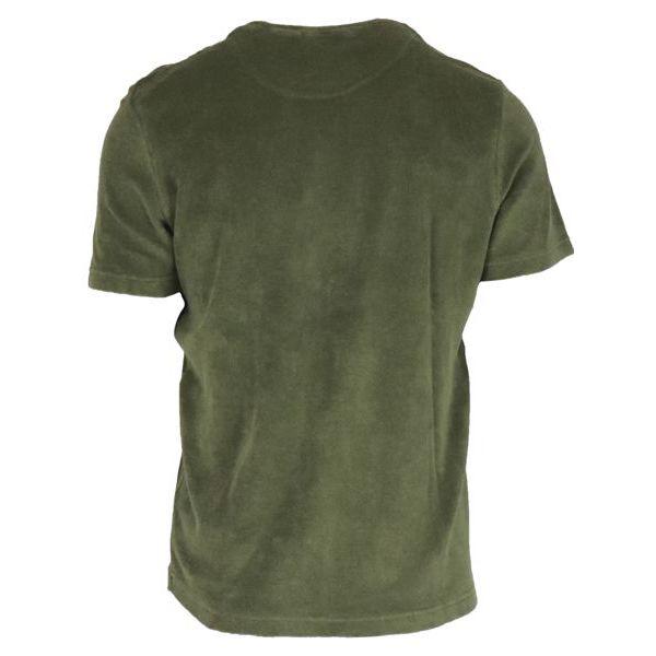 3. Altea crewneck T-shirt in cotton terry Fir Altea