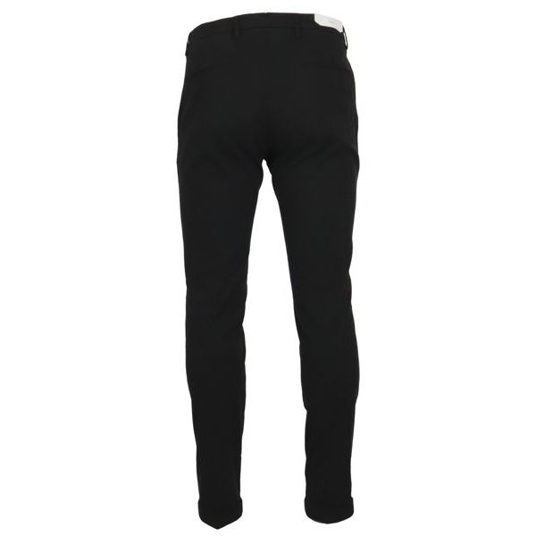 3. Bridle chino trousers with america pocket Black Briglia