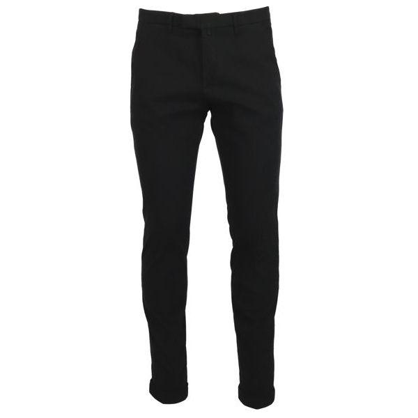 1. Bridle chino trousers with america pocket Black Briglia