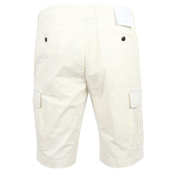 3. Bridle cargo shorts in cotton Cream Briglia