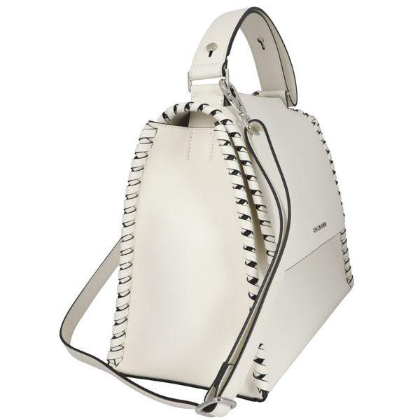 4. Orciani sveva medium liberty mesh bag White Orciani