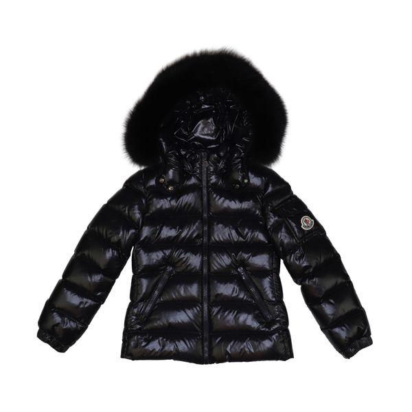 1. Moncler Bady Fur down jacket with fur trim Black Moncler