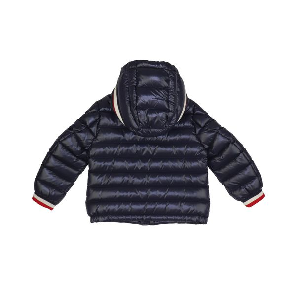 2. Moncler Alberic hooded down jacket Navy Moncler