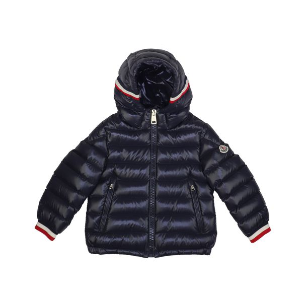 1. Moncler Alberic hooded down jacket Navy Moncler