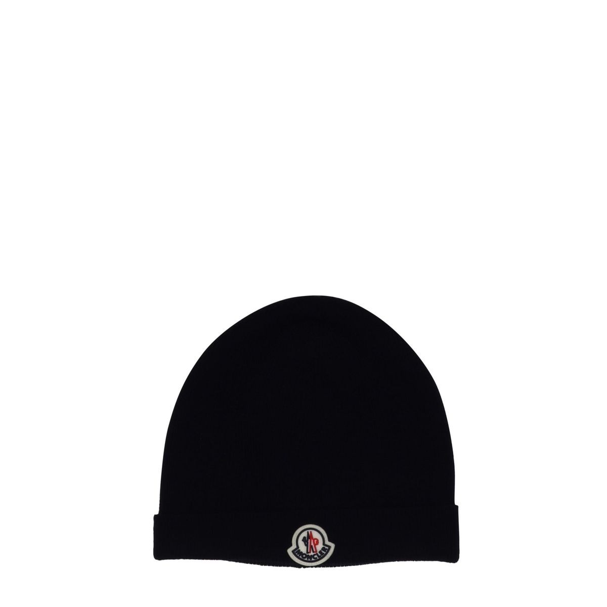 1. Moncler cap in wool blend Black Moncler
