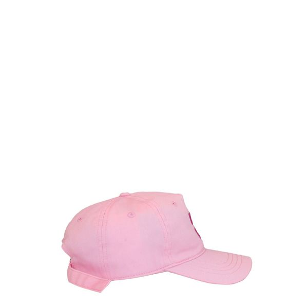 2. Off White baseball cap in cotton with embroidered logo Pink Off White