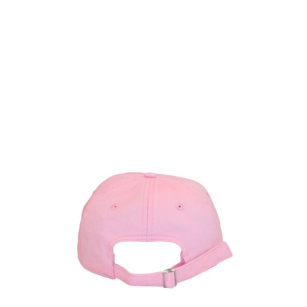 3. Off White baseball cap in cotton with embroidered logo Pink Off White