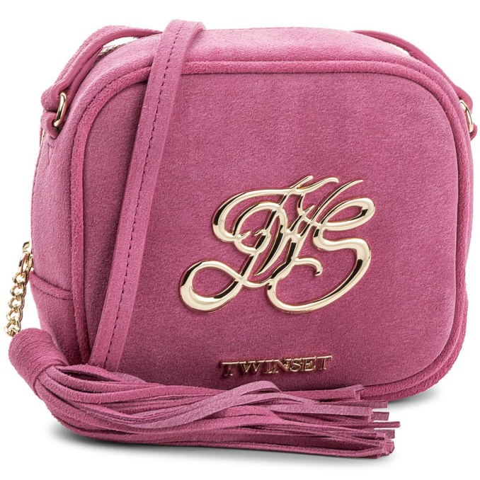 BORSA MAXI LOGO Fragola Twin-Set