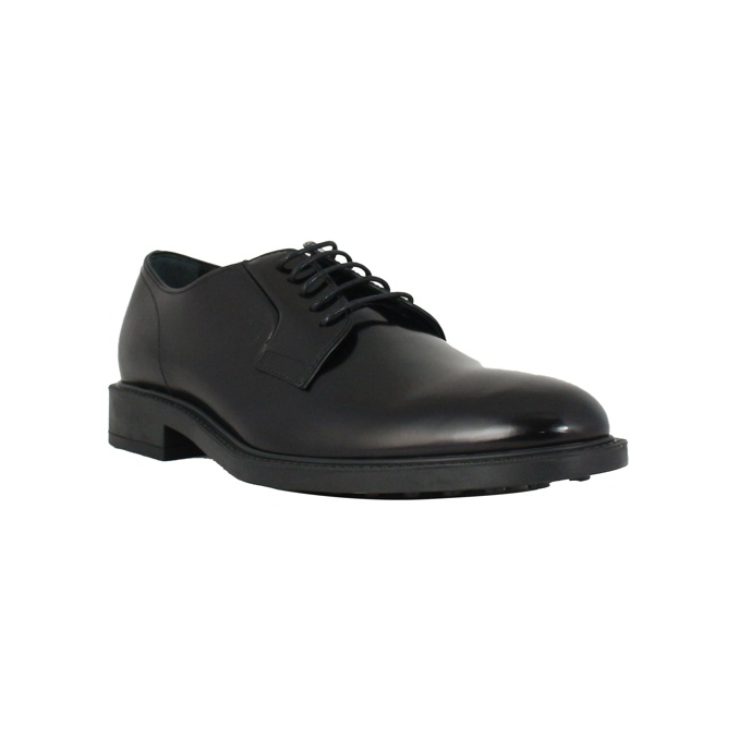 SHINY LEATHER DERBY Black Tod's