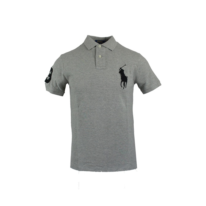 c680b71c POLO BIG PONY SLIM Light grey, Polo Ralph Lauren 688970 - CapoSerio.com