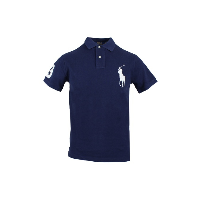 POLO BIG PONY SLIM Navy Polo Ralph Lauren