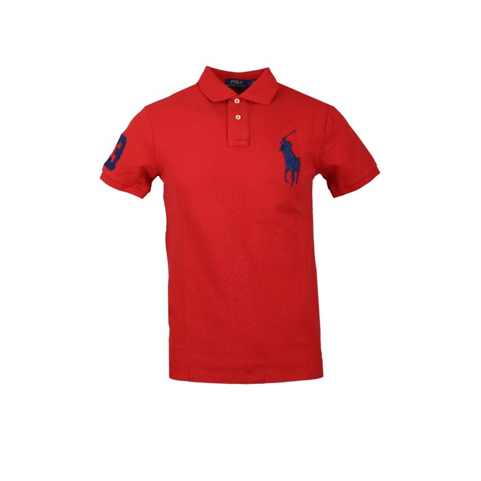 POLO BIG PONY SLIM Rosso Polo Ralph Lauren