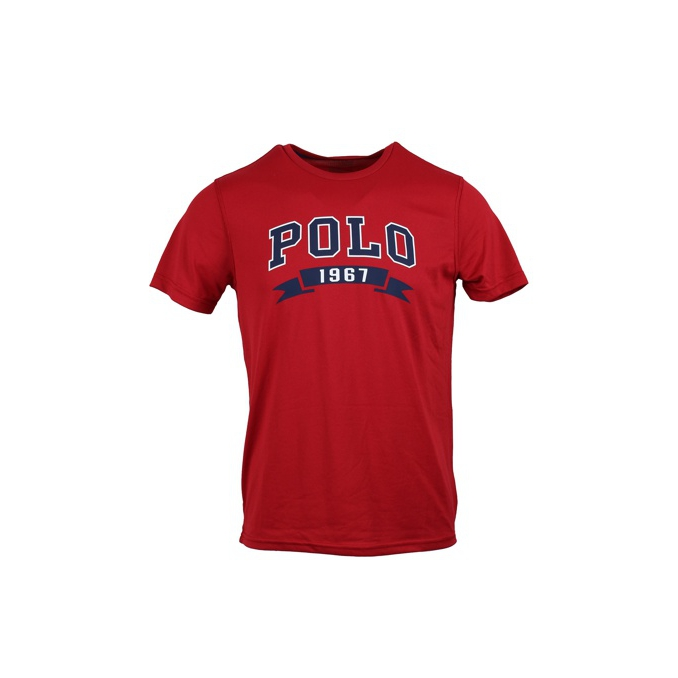T-shirt imprimé Rouge, Polo Ralph Lauren 695632, T-shirt 32633356732