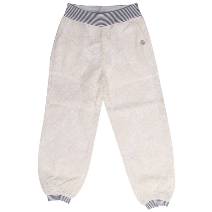 PANTALONE PIZZO Crema Twin-Set