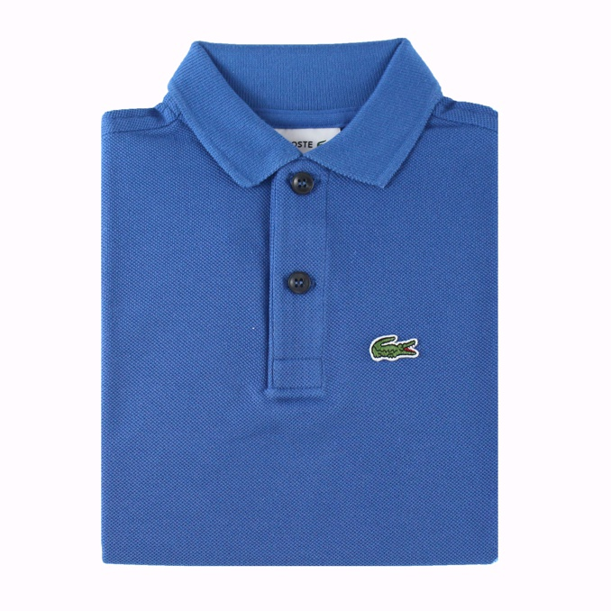 POLO IN COTONE Bluette Lacoste